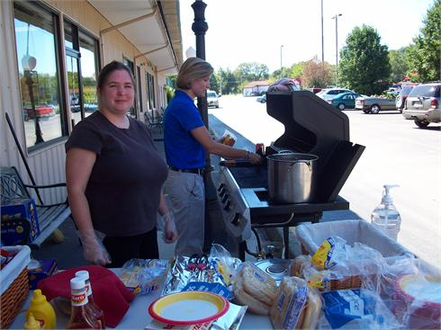 National Adult Education cookout